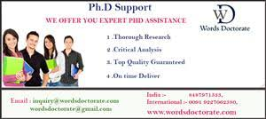 Thesis Writing Service Ahmedabad