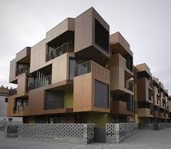 Tetris Exterior Apartment Building Design Model ARCH  Apartment - Apartment building design