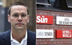 James Murdoch resigns as News International chairman. James Murdoch has stepped down as chairman of News International, the company announced today. - James-Murdoch_2138926a