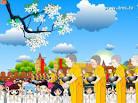 รูปภาพการ์ตูนน่ารัก-ภาพการ์ตูนพระบิณฑบาต no.2887 Wallpaper Download