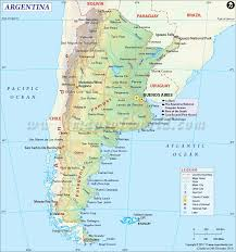 Political Map Of Latin America by Argentina Map Mapa De Argentina My Mother U0027s As Well As My