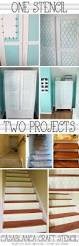 Diy Home Projects by One Stencil Two Projects Casablanca Craft Stencil Stencil Stories