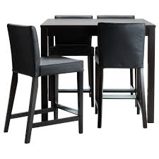 Dining Room Table And Chairs Ikea by Bjursta Henriksdal Bar Table And 4 Bar Stools Ikea I Want A