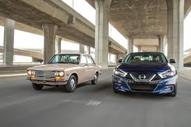 nissan altima 2016 no brasil then vs now 1972 datsun 510 vs 2016 nissan maxima sr
