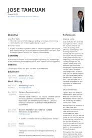 how to write resume for internship