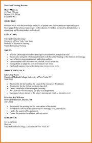 resume for nursing student sample nursing student resume nursing       new nursing graduate