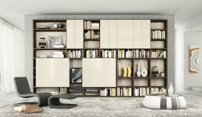 Modern Contemporary Bookshelves by Wonderful Contemporary Shelving On Furniture With Wall Shelves