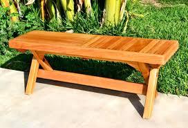 dolls house miniature garden furniture wooden park bench wooden