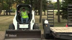 bobcat loader safety youtube