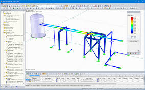 pipe stress analysis software dlubal software