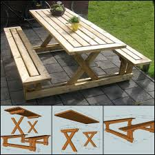 Free Woodworking Plans Round Coffee Table by Best 20 Folding Picnic Table Plans Ideas On Pinterest U2014no Signup