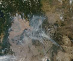 Wild Fires In Oregon Update by Fires Smoke In Idaho Washington Oregon Nasa