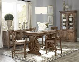 Counter Height Dining Room Tables by World Menagerie Devereaux Rectangular Counter Height Dining Table