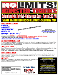 monster truck show missouri sedalia fact sheet 17