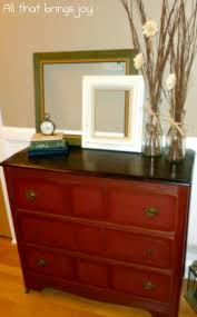 Chalk Paint Furniture Ideas by Top 25 Best Red Dresser Ideas On Pinterest Red Painted