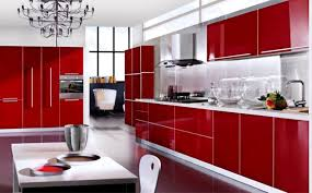 Red And Black Kitchen Ideas Design Fascinating Original Jill Green Sleek Red And Black
