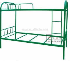 dorm metal bunk bed metal iron bed two floor metal bed in