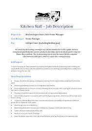 Bedroom Magnificent Itil Support Model Hospital Kitchen Helper Job Description Pdf School Position Pastry Hotel