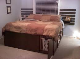 Build Your Own Platform Bed Base by Bedroom Famous Picture Design Of Diy Bedframe With Storage Nu