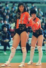 女子バレーブルマー画像|36か2384 バレーNIPPON 1973.7 横山樹理 女子バレー ブルマ 昭和 ...
