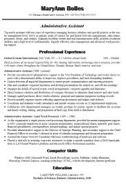 Resume Job Profile by Best 20 Administrative Assistant Resume Ideas On Pinterest