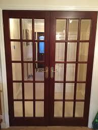bevelled glass door internal hardwood french doors with bevelled glass in spennymoor