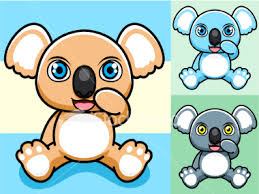 cute koala bear cartoon pictures