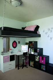 best 25 hanging beds ideas on pinterest trampoline places near i like the shelves stairs not so sure about the chain would need bedroom space saversloft bedsbunk bedkids safetyhanging