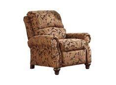 signature designs by ashley nadior paisley print high leg recliner