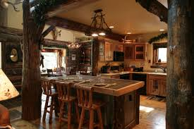 Antique Kitchen Island by Kitchen Style Kitchen Island With Twigs Shape Hanging Lights Top