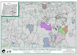 Oregon State Fair Map by Programs Wild Horse And Burro Herd Management Herd Management