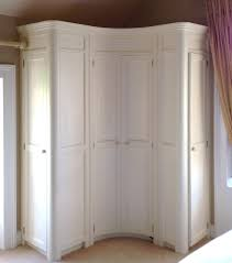curved fitted corner wardrobe hand painted in a cream www curved fitted corner wardrobe hand painted in a cream www linehansdesign com https