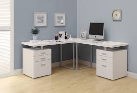 buy computer desk white l shaped corner desk at harvey u0026 haley