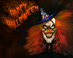 very scary halloween pics for facebook clown photos u0026 pics to color