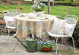 lawn garden attractive outdoor vintage metal chair yellow powdered