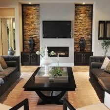 Living Room Interior Wall Design Living Room Rock Wall Photos Angelica Henry Design Hgtv Modern