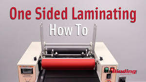 How To Laminate Business Cards How To Do One Sided Lamination Youtube