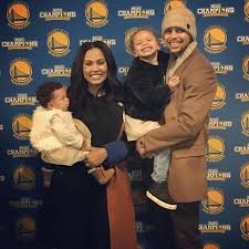 The basketball wives and girlfriends joining Ayesha Curry at NBA     Daily Mail Ayesha and Stephen Curry started dating when they were teenagers and were later married in