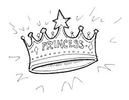 princess crown coloring pages chuckbutt com