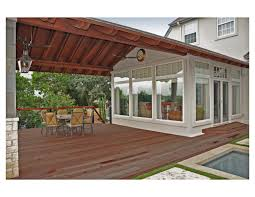 Simple Covered Patio Designs by Covered Patio Addition For Off The Garage Patios Pinterest
