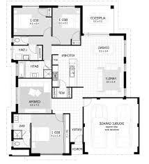 home design spelndid 3 bedroom house floor plan plans 2016 with