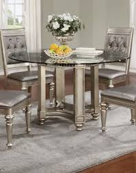 silver dining room sets inspiration ideas decor silver dining room