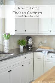 to paint kitchen cabinets a burst of beautiful