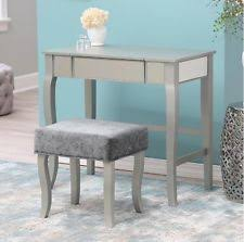 Linon Home Decor Vanity Set With Butterfly Bench Black Transitional Vanities U0026 Makeup Tables Ebay