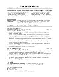 Help desk services and computer support for the it support resume with operating system  Resumes  Klembor Resume Library