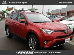 dealer toyota 2017 new toyota rav4 limited fwd at kearny mesa toyota serving