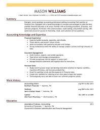 Accountant Clerk Resume