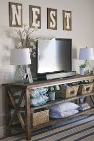 Living Room Tv Cabinet Best 25 Tv Console Decorating Ideas On Pinterest Tv Stand Decor