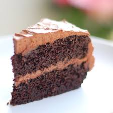 How To Decorate Chocolate Cake At Home Double Chocolate Cake With Buttercream Frosting Recipe Pinch Of Yum
