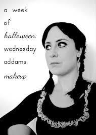 a week of halloween wednesday addams makeup hello scarlett blog